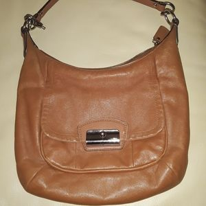 Coach Brown Leather Vintage Hobo